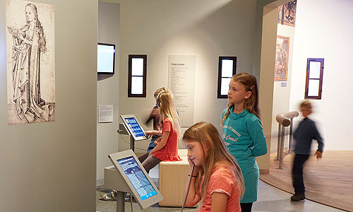 Picture: Children in the museum